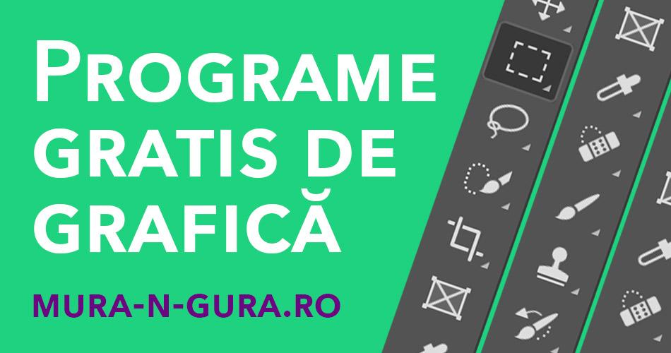 Programe gratuite de grafică și design